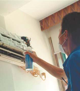 清洗空调 别忽视散热片