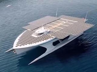 全球最大太阳能船,创造多项纪录,还非常环保