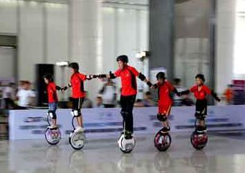 第四届平衡车大赛亮相2019中国国际消费电子博览会