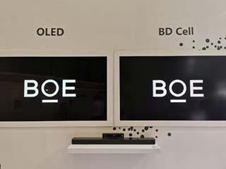 京东方展示BD Cell面板:百万对比度 功耗比OLED低40%