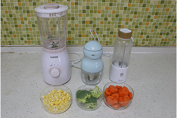 普通料理机与辅食专用料理机大比拼