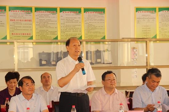 中国轻工业联合会党委副书记王世成
