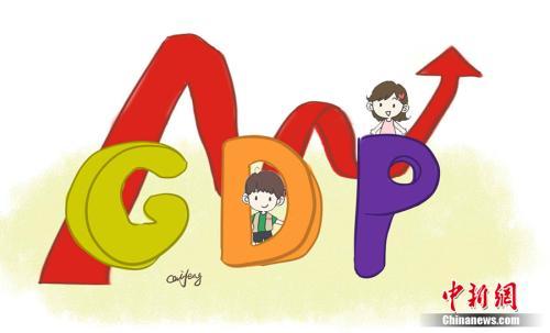 GDP漫画。作者:王珊珊