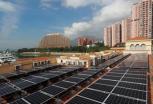 天台装太阳能光伏系统 香港每年可产8.8亿度电