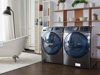 打造私人洗衣房 三星有容系列洗烘组合体验