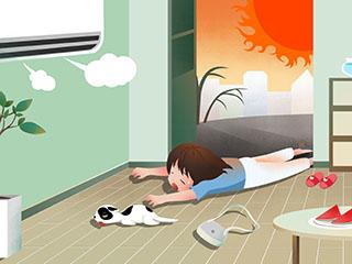 10岁男童整日待在空调房 不慎患上肺炎
