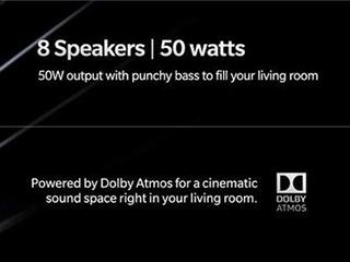 一加足彩导航官推爆料:内置8杜比Atmos扬声器 50W功率