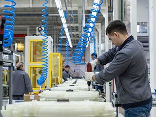 欧洲首个COSMOPlat互联工厂——海尔俄罗斯洗衣机互联工厂举行开业典礼