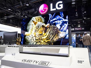 LG 8K OLED足彩导航英国开卖 售价约合21万人民币