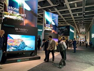 海信电视军团惊艳柏林 IFA,8K叠屏和屏幕发声激光电视重磅亮相