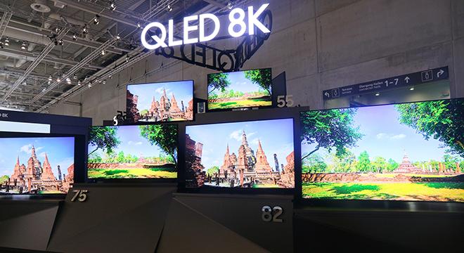 IFA2019:三星QLED 8K电视让你置身所在 浸在真实