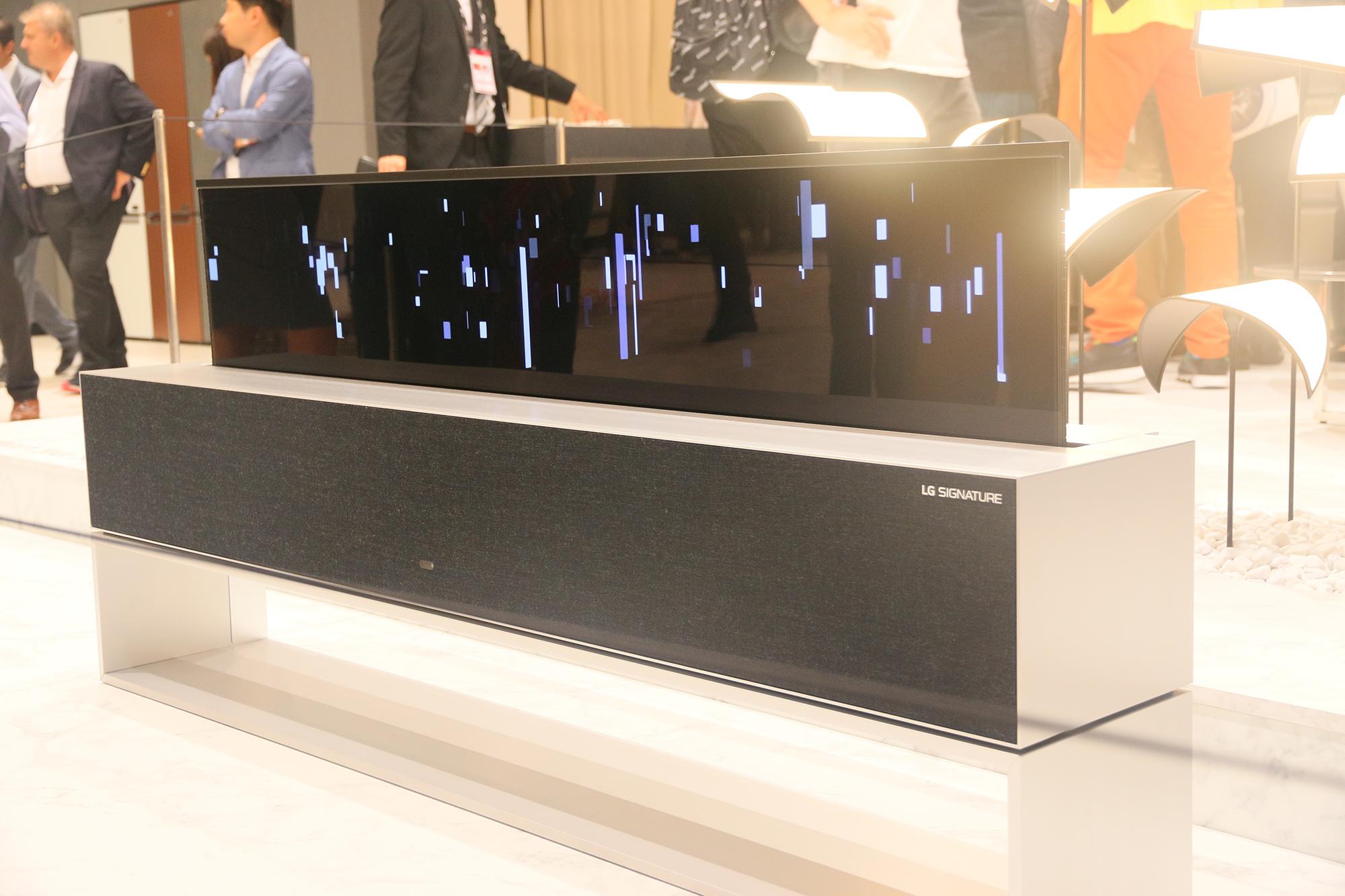 """OLED电视怎么强了?这台机器竟然能""""隐形"""""""