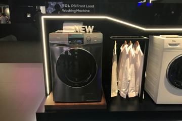 IFA2019精品扫描 TCL P6新品滚筒洗衣机打造健康洗涤生活