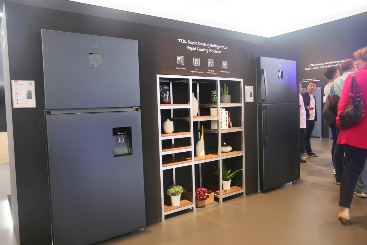 极速制冷锁新鲜 TCL急冷式冰箱征战IFA2019