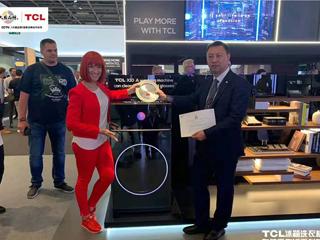 让健康成为世界的通标 在柏林遇见TCL洗衣机