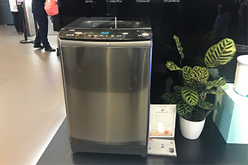 分类洗涤呵护家人 TCL桶中桶洗衣机震撼亮相IFA2019
