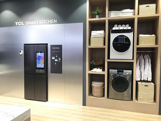 厨房变身智能交互中心 TCL冰箱新品带你感受人工智能