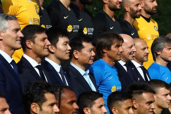 张近东闪现欧洲 意媒称:并非单纯为足球而来