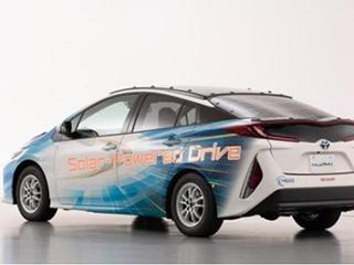 丰田太阳能动力汽车充电效率高达34%:晒一天跑57公里
