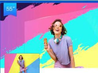 VIDAA 电视V1F全面屏开售,蓝V大咖力挺潮牌家电