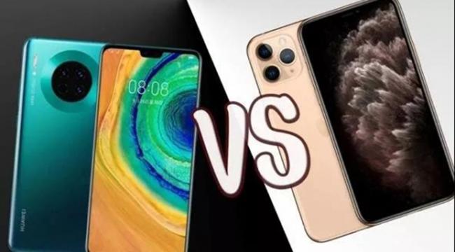 后发先至 华为Mate 30能赢苹果iPhone 11多少?