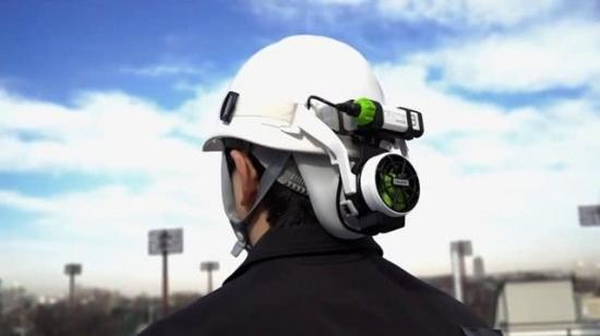 日本人发明空调安全帽,是高温工作神器
