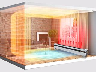 清洁采暖渐成趋势,石墨烯电暖器前景无限!