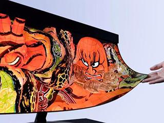 夏普与NHK研制可卷曲4K OLED屏:0.5mm厚 重100克