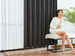 小米系推99%遮光除甲醛窗帘:不耗电的空净