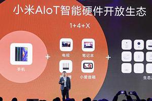 小米首次明确IoT品类战略:1+4+X