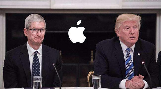 为了留住苹果美国工厂 特朗普考虑用关税拉关系
