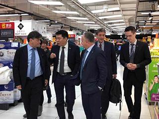 ITA到访家乐福中国苏宁国际深化意大利合作