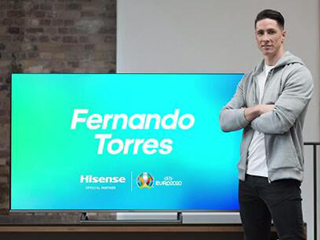 官宣!托雷斯成海信2020欧洲杯抽签仪式大使