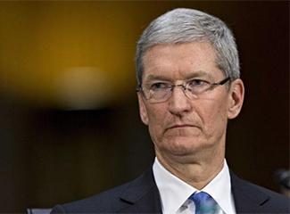 营收未达预期 苹果CEO库克2019年工资缩水26%