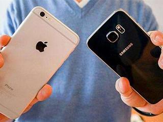 全美运营商手机销量逾90%来自苹果和三星