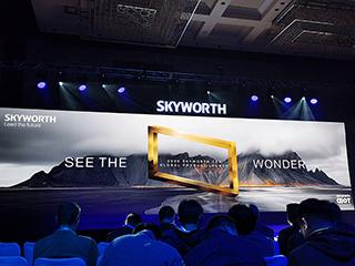 创维首款量产8K电视Q91系列首发CES2020