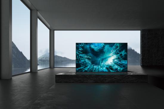 索尼8K HDR智能液晶电视Z8H系列
