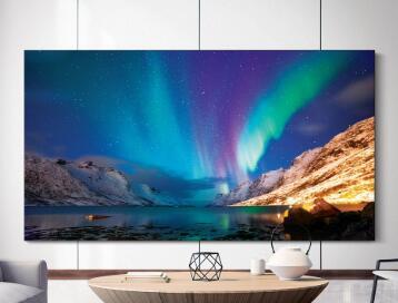 三星电子2020 QLED 8K电视亮相CES