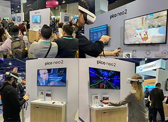 Pico Neo 2 VR一体机亮相CES 2020,高精度头手6DoF追踪获赞