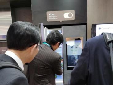 CES2020 海信21英寸大屏冰箱展未来厨房生活新模样
