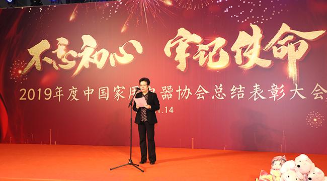 不忘初心,牢记使命 2019年度中国家用丝瓜视频app协会总结表彰大会圆满落幕