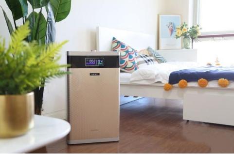 莱克新一代甲醛净化器 好空气看得见房间居住更安心