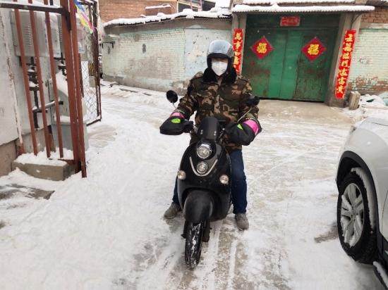 苏宁菜场品控员:零下22度的仓库 他一呆就是一天