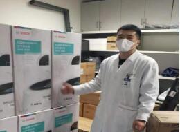 """战""""疫""""到底!博世热力技术再向上海、湖北多家医疗机构捐赠空气净化器"""