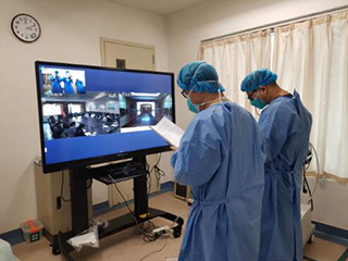 护航一线医护人员生命安全  山东近50家医院用海信远程医疗系统