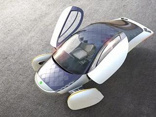 晒晒太阳 日行百里 太阳能电动车即将上路