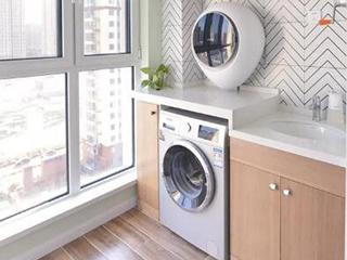 """想把洗衣机放在阳台上?首先要解决好这三种关于""""水""""的问题"""