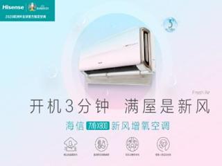 中国首个新风空调团标发布,海信牵头制定