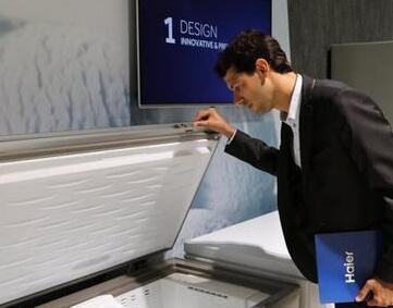 单品类增幅超60%,单天增长72%,在欧洲海尔冷柜最抢手