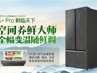 澳柯玛S+Pro冰箱,养鲜大师全幅变温随鲜调